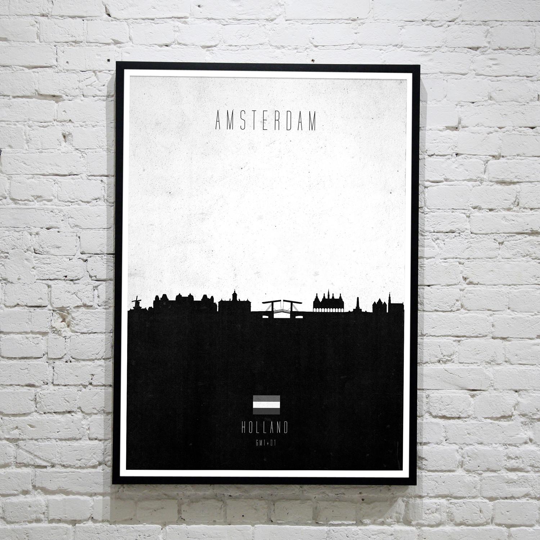 Amsterdam. Contemporary Cityscape