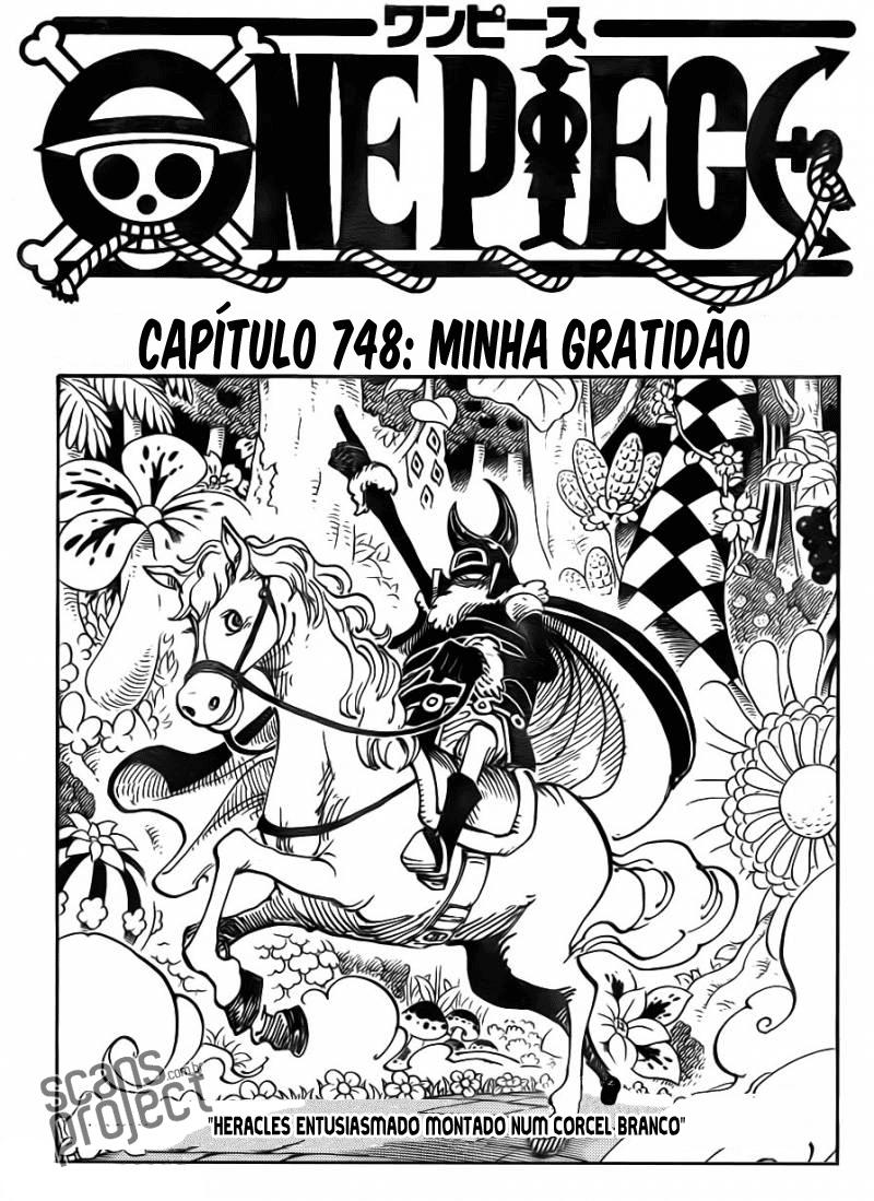 One Piece 748 Português Mangá