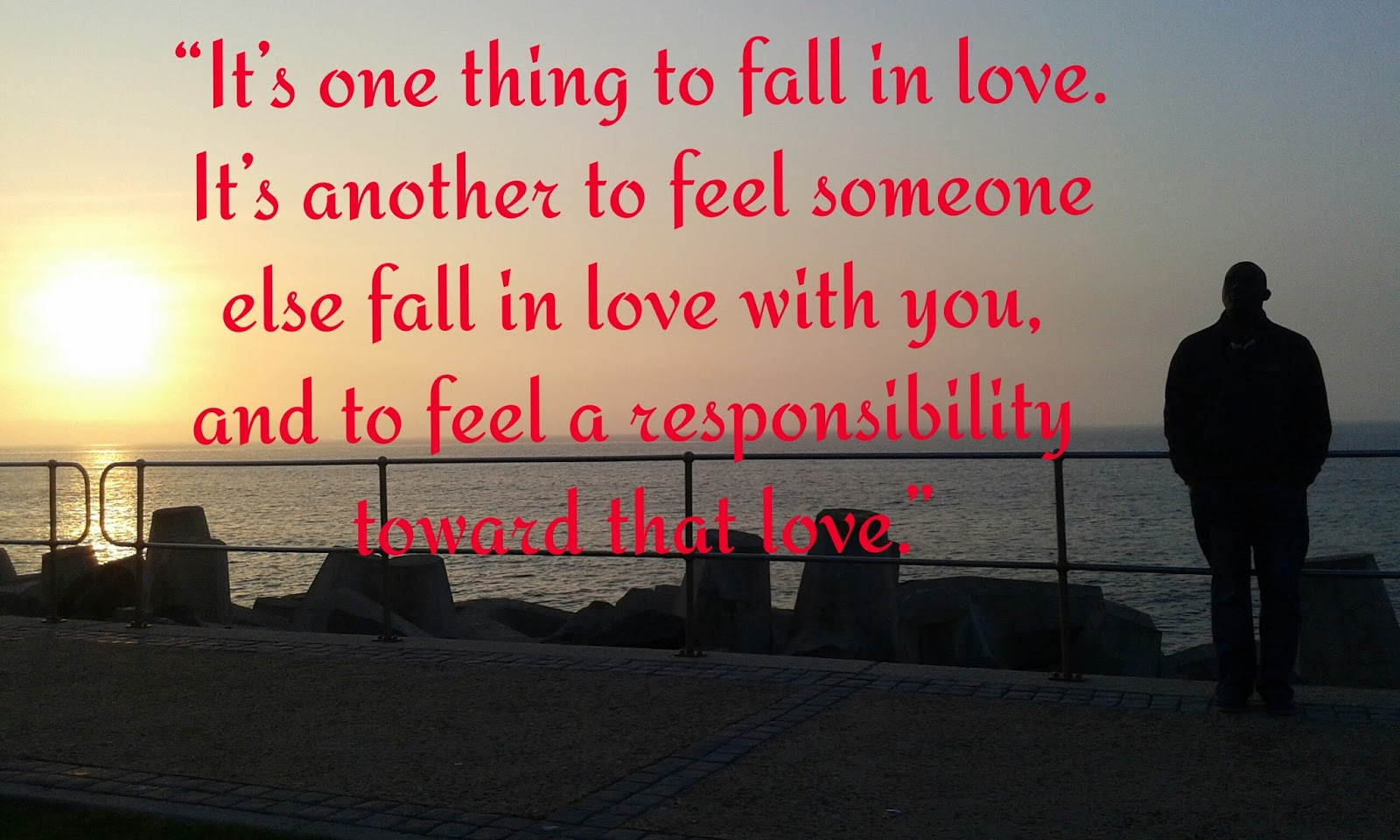 love isn t about finding the perfect person
