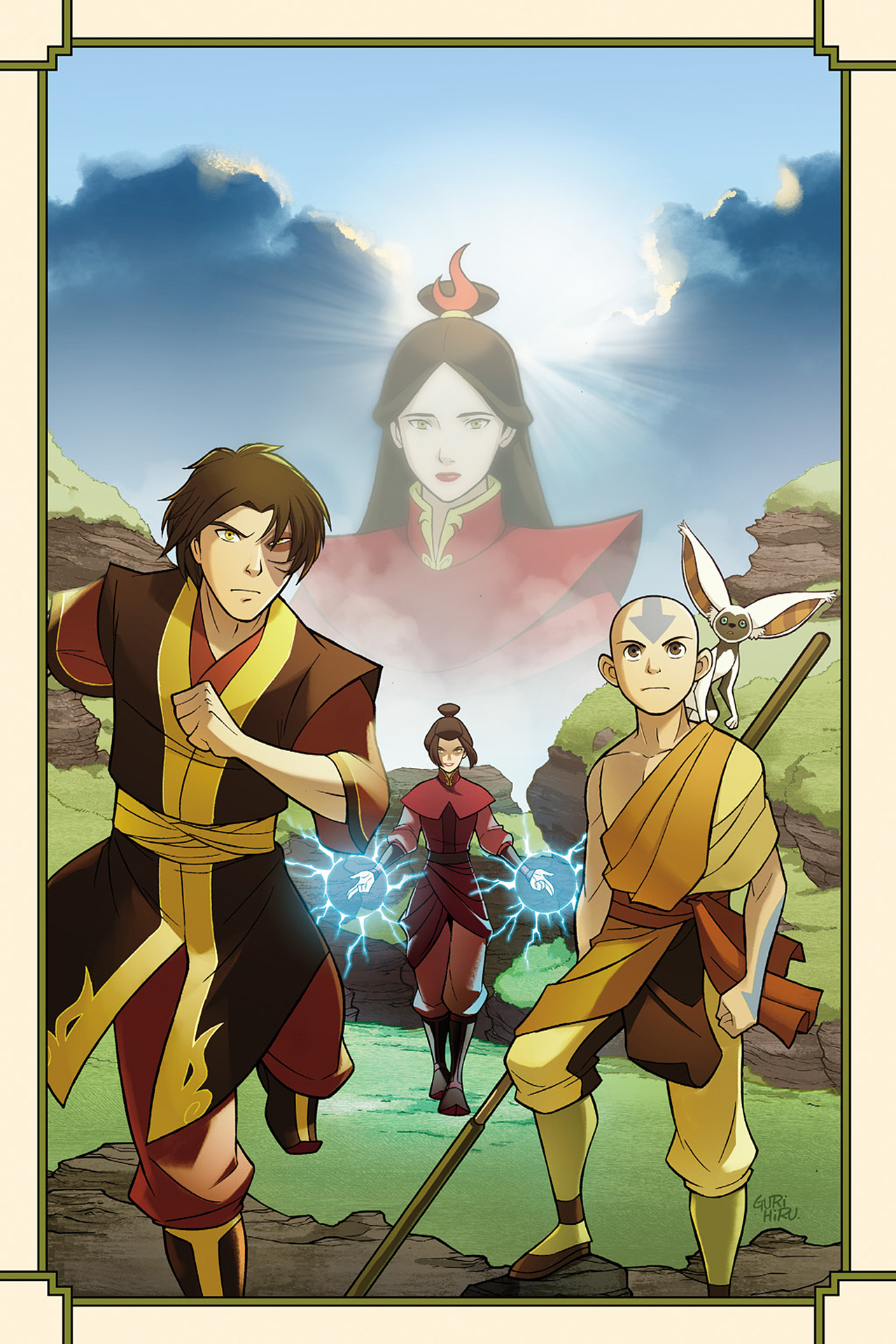 Read online Nickelodeon Avatar: The Last Airbender - The Search comic -  Issue # Part 1 - 3