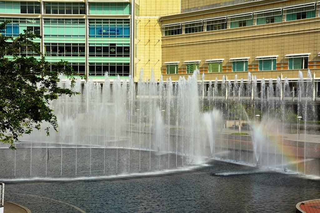 KLCC Park Kuala Lumpur fountains