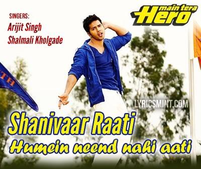 Shanivaar Raati - Varun Dhawan