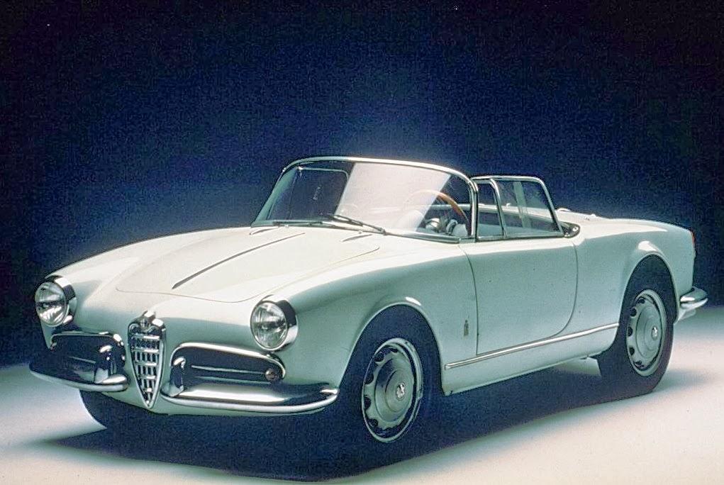 Giulietta Spider: a favorita da Itália entre 1955 e 1962.