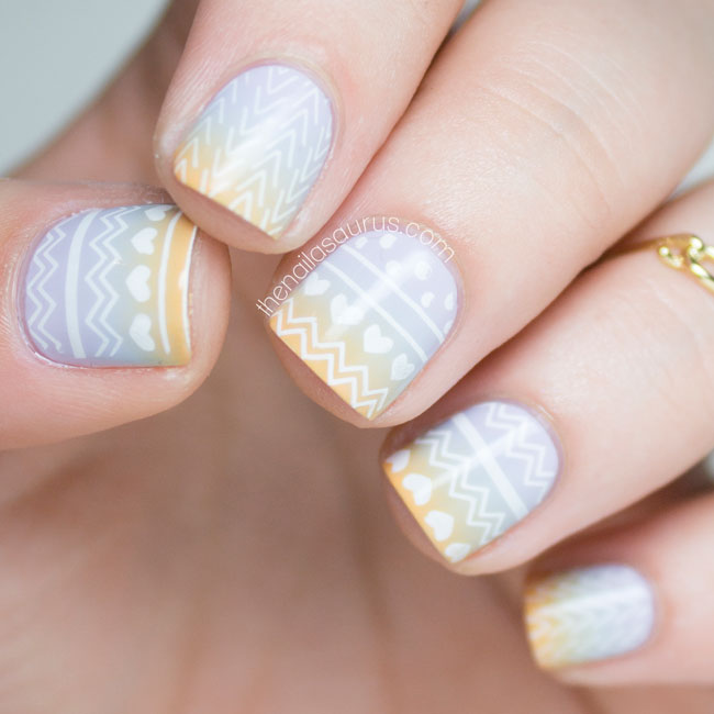 Moyou Hipster Stamping Nail Art The Nailasaurus Uk Nail Art Blog