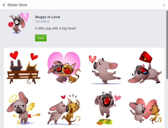 'Love is in the Air' And 'Mugsy In Love': Facebook Adds 2 Valentine's Day Special Sticker Packs