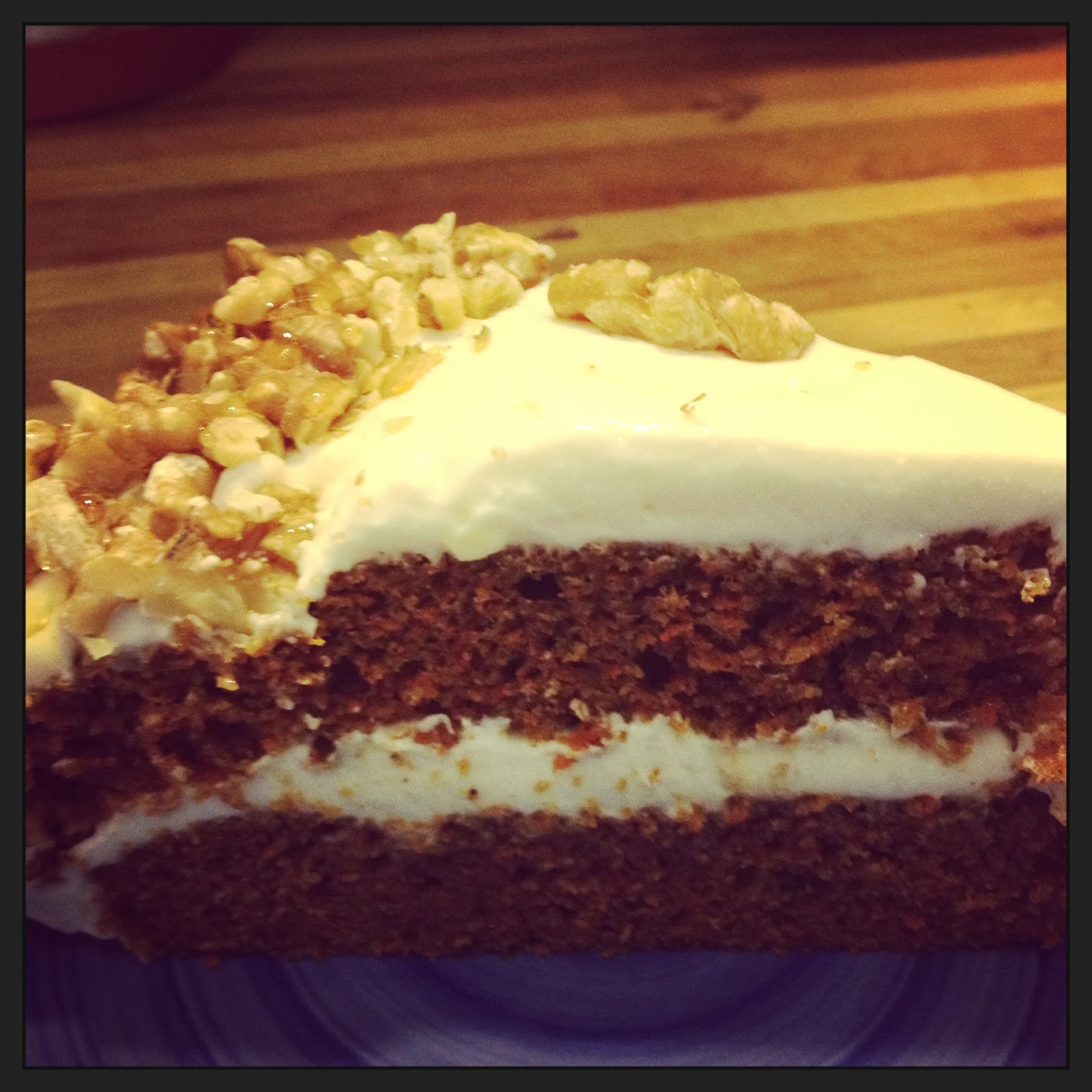 Maria of the Best : Carrot cake with maple cream cheese ...