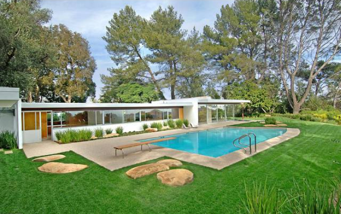Modern Homes Los Angeles Vidal Sassoon 39 S The Singleton
