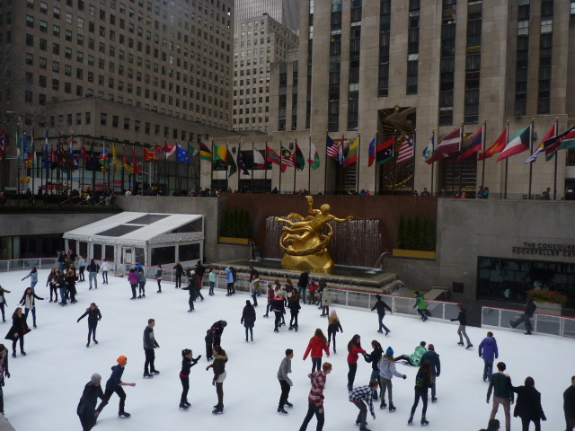 Pista de patinaje Rockefeller Center
