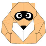Racoon Origami