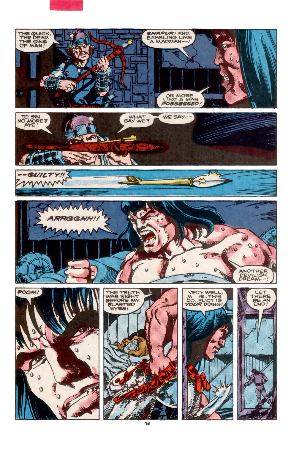 Conan the Barbarian (1970) Issue #202 #214 - English 19