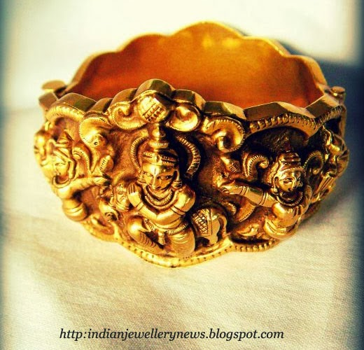 Bangles Collection of Temple Jewellery