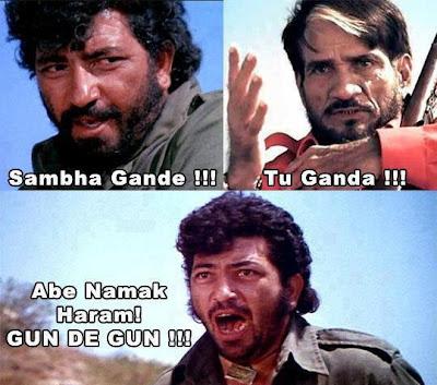 Gabbar Singh,Amzad khan,sholey,shambha