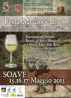 Festa Medioevale del Vino Bianco Soave dal 15 al 17 Maggio Soave