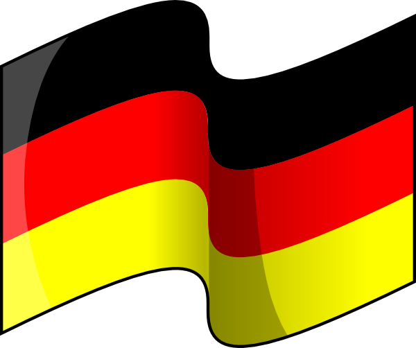 Flag Wallpaper of German Nation
