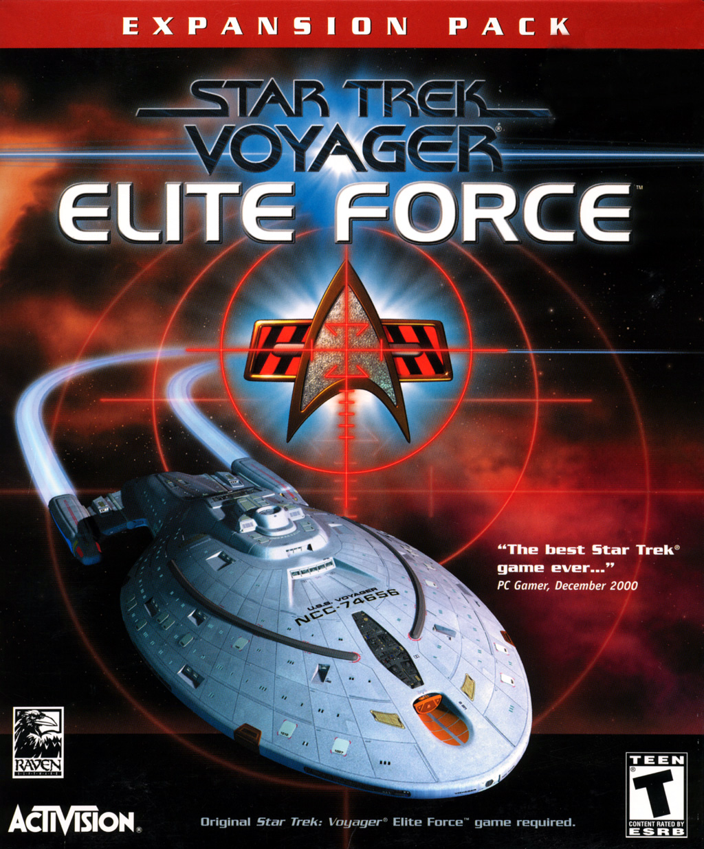 Star Trek: Voyager Elite Force pc full español iso