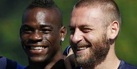 Italia Terhenti, De Rossi Semprot Balotelli