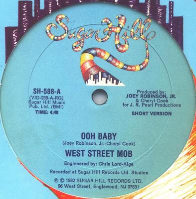 West Street Mob – Ooh Baby (1982, VLS, 256)