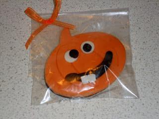 biscotti segnaposto per halloween