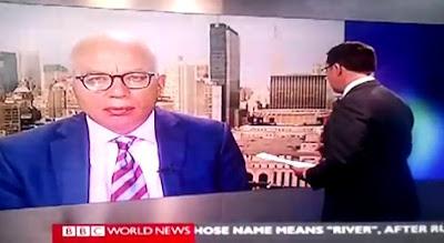 Program berita TV tersilap orang untuk ditemu bual