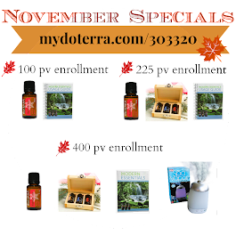 Our November Specials!