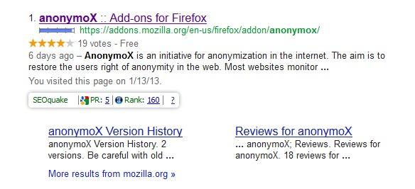 Hasil Pencarian Google untuk anonymox
