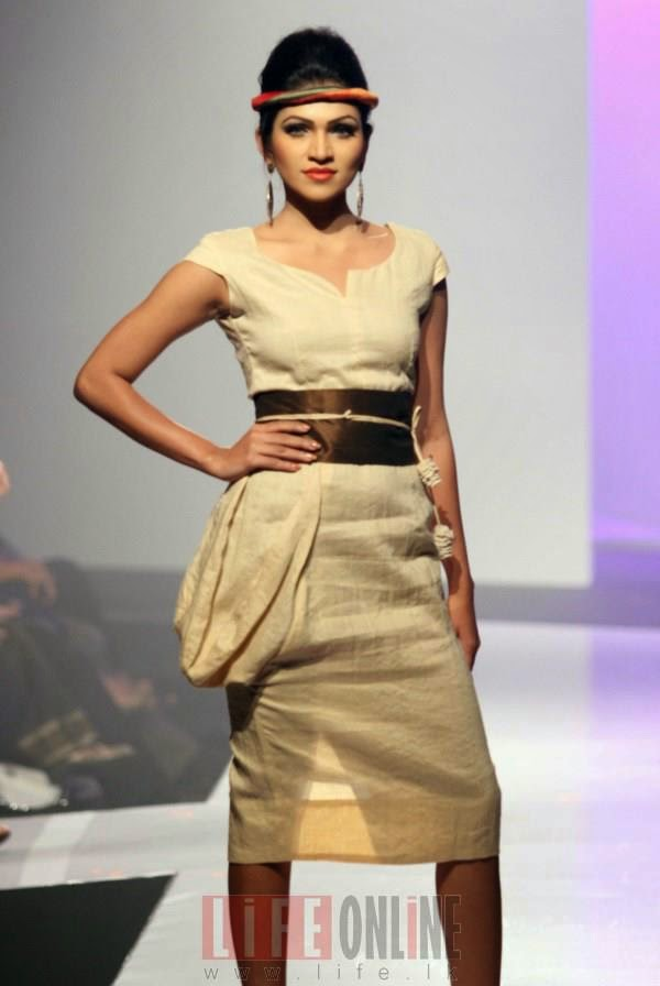 The finale of the Colombo Fashion Week 2013