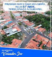 PARABÉNS OLHO D'ÁGUA DAS CUNHÃS