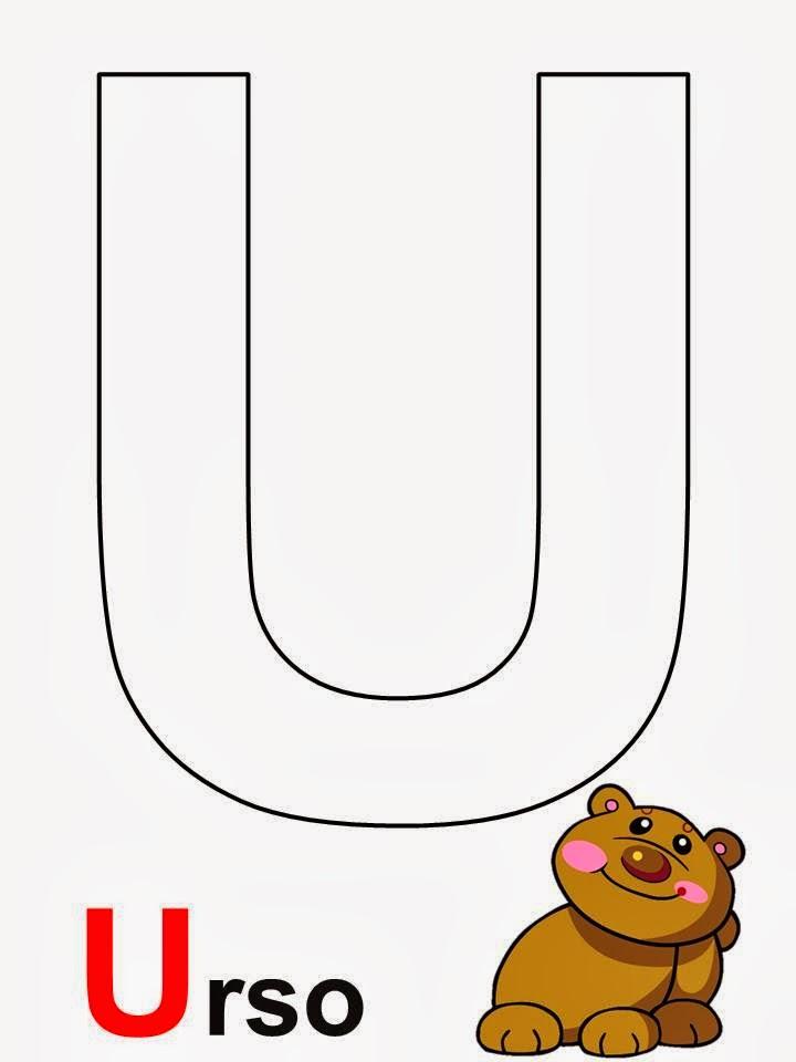alfabeto urso