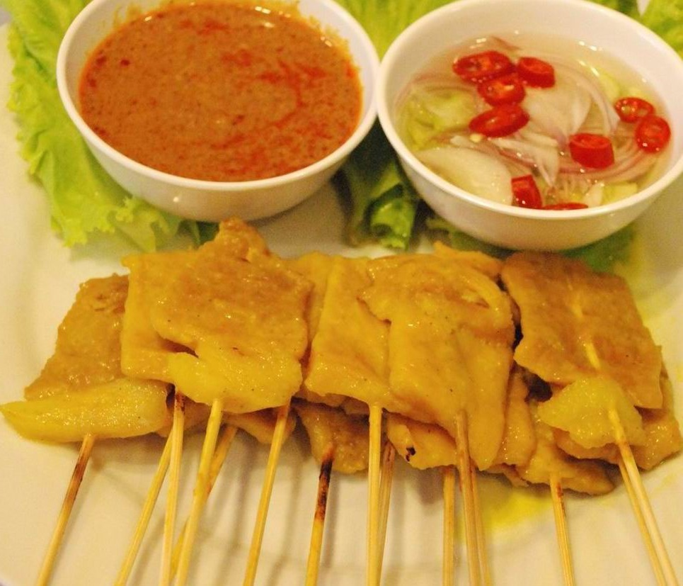 Recipes easy thai food thai satay moo satay thai satay moo satay forumfinder Choice Image