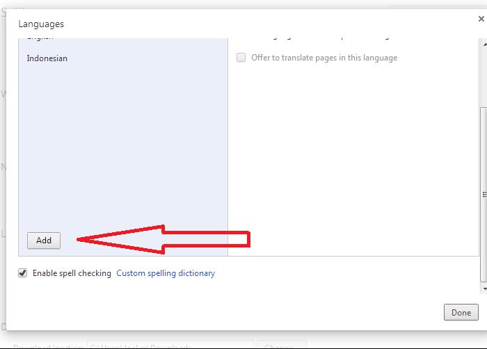 Merubah Bahasa Google Chrome 3