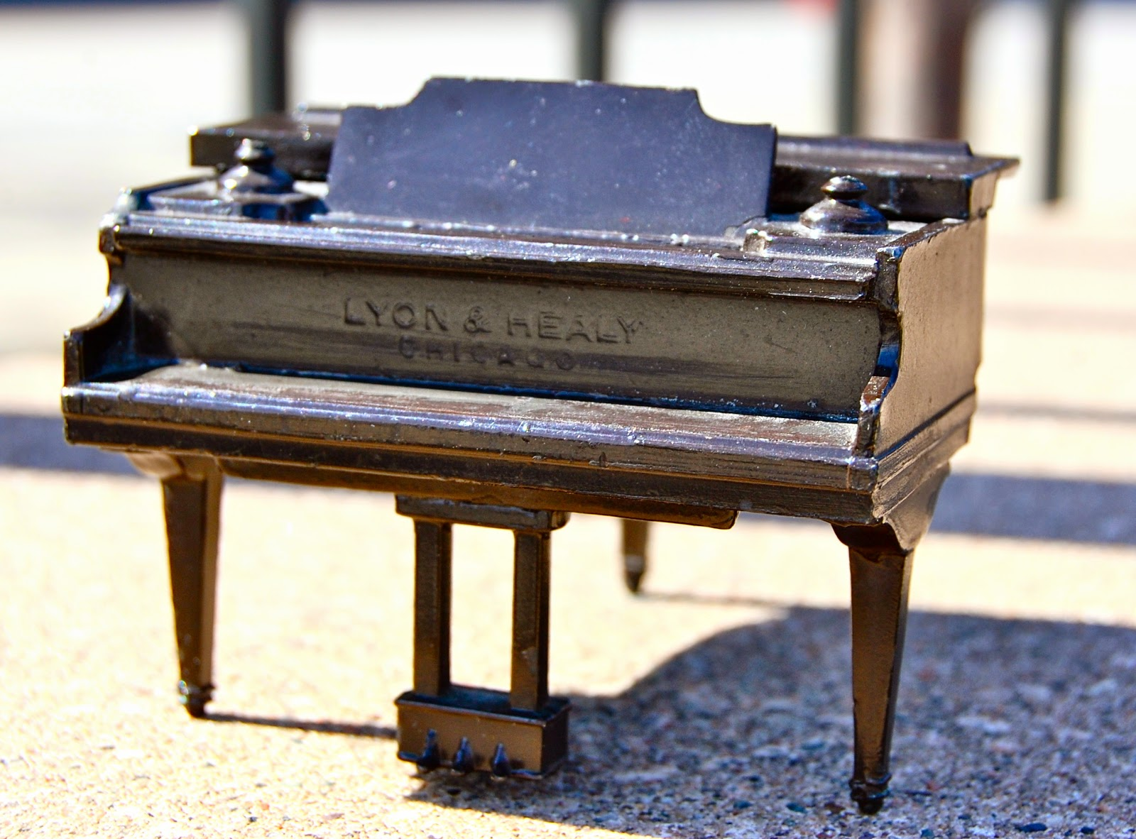 They Marketed It As An Apartment Size Grand Piano This Piece Is Only About 4 X 3 1 2 And In S Original Brown Paint Condition Excellent