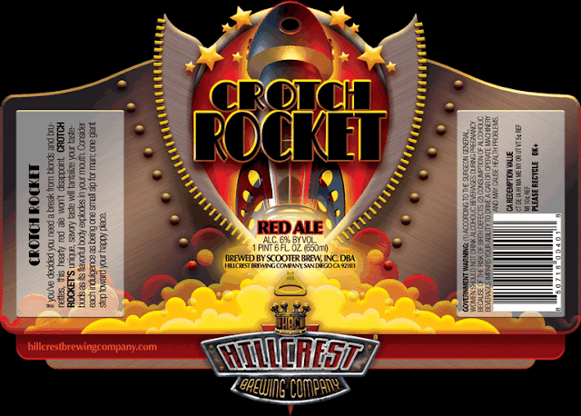 Hillcrest Crotch Rocket Label