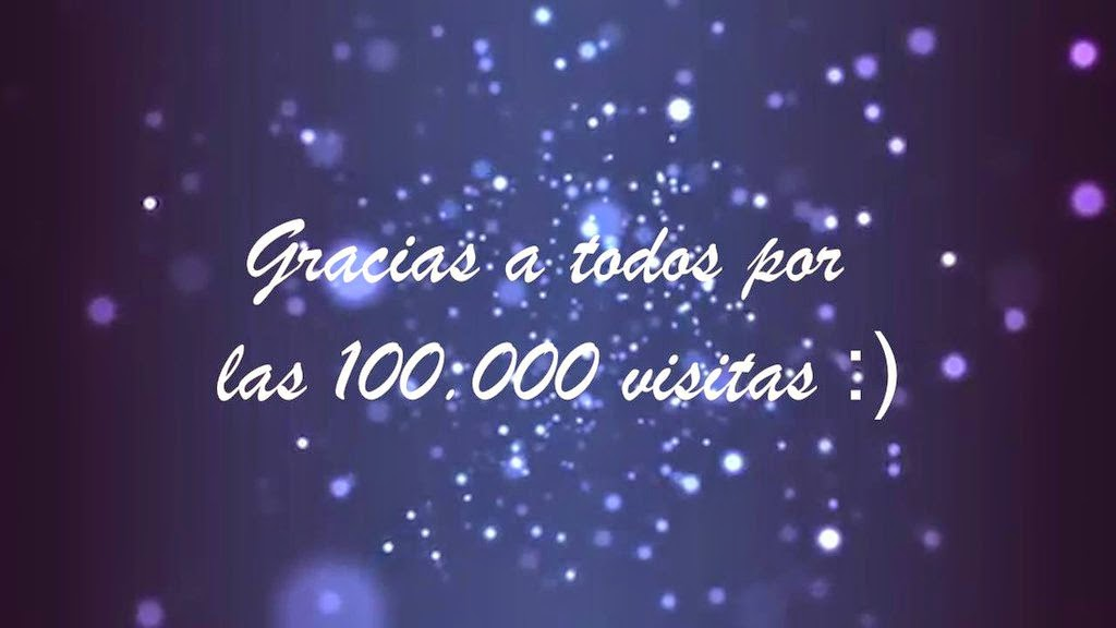 100.000 visitas gracias a todos