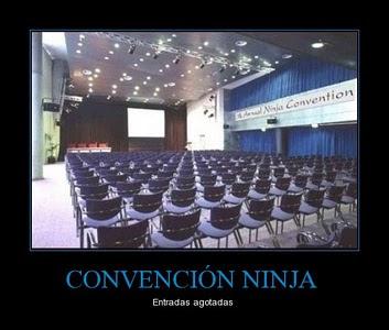 Imagen de convención ninja