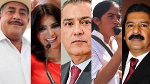 Diez candidatos a diputados locales del PRI por la vía plurinominal