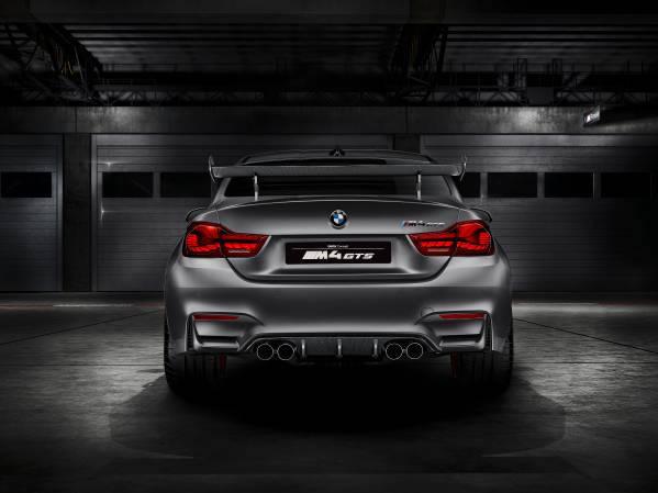 「BMW Concept M4 GTS」リア画像その2