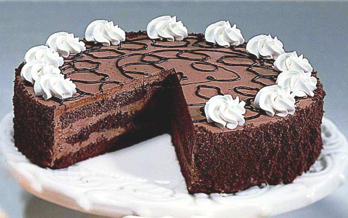 Delicious Chocolate Mousse Cake, Special Chocolate Mousse ...