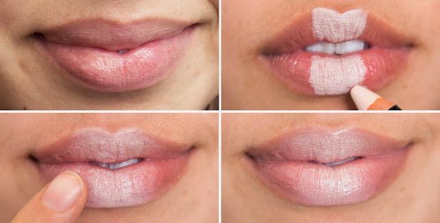 Как увеличить губы в домашних условиях с помощью зубной