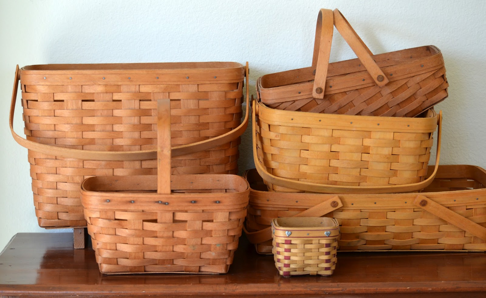 the copycat collector collection 227 longaberger baskets
