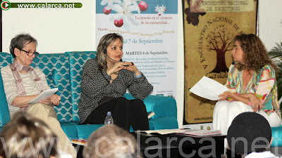 Florence Thomas, Cristina Valcke y Sandra Castañeda