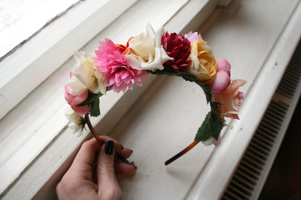 Blumenel Selber Machen mirastanislawa d i y blumen haarreifen
