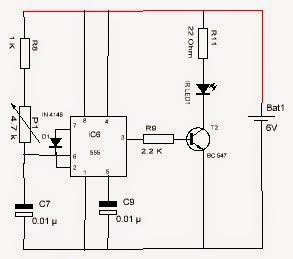 Sakelar Inframerah dan Remote Kontrol