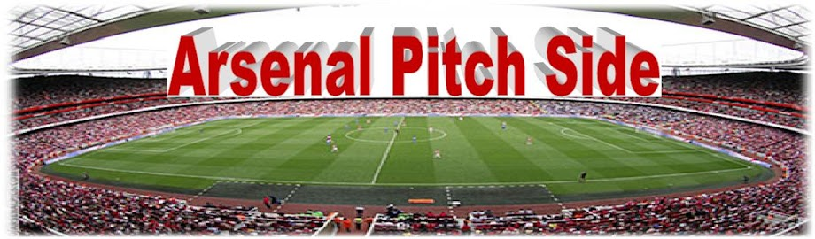 Arsenal Pitch Side
