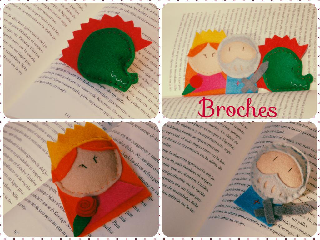 Bichos de colores sant jordi - Broches para manualidades ...