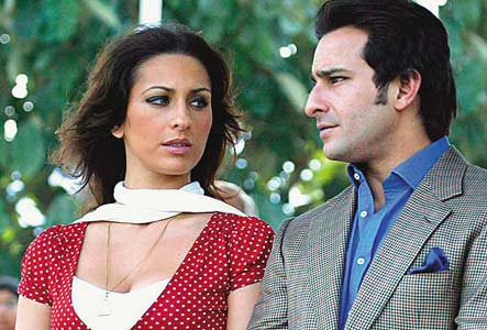 Saif Ali Khan &  Ex -girle friend Rosa