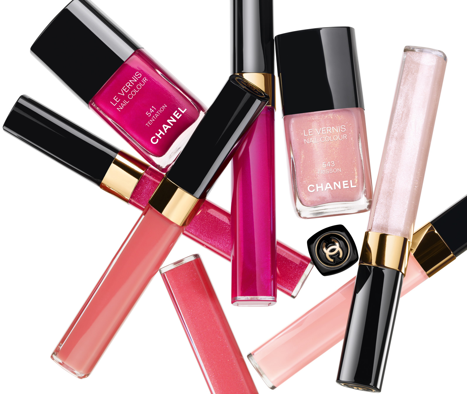 Chanel roses ultimate de chanel makeup collection for spring 2012 makeup4all.