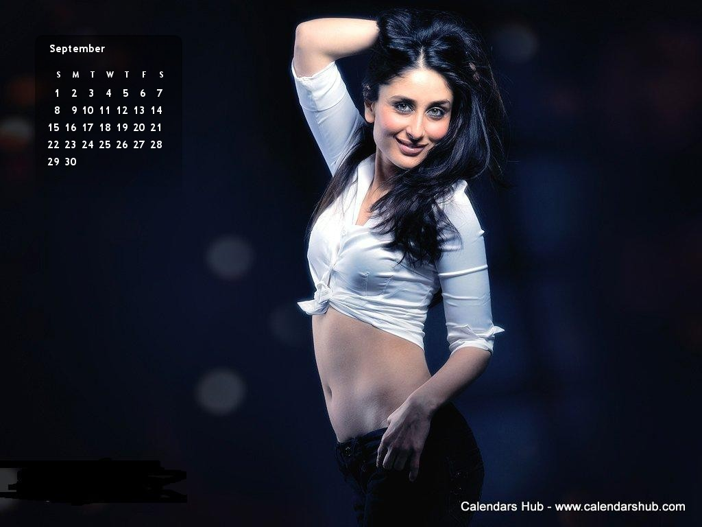Kareena Kapoor Saif Desktop Wallpaper Calendar September 2013
