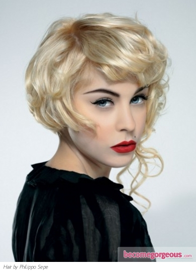 vintage prom hairstyles : Unique Hairstyles For Medium Hair - blondelacquer