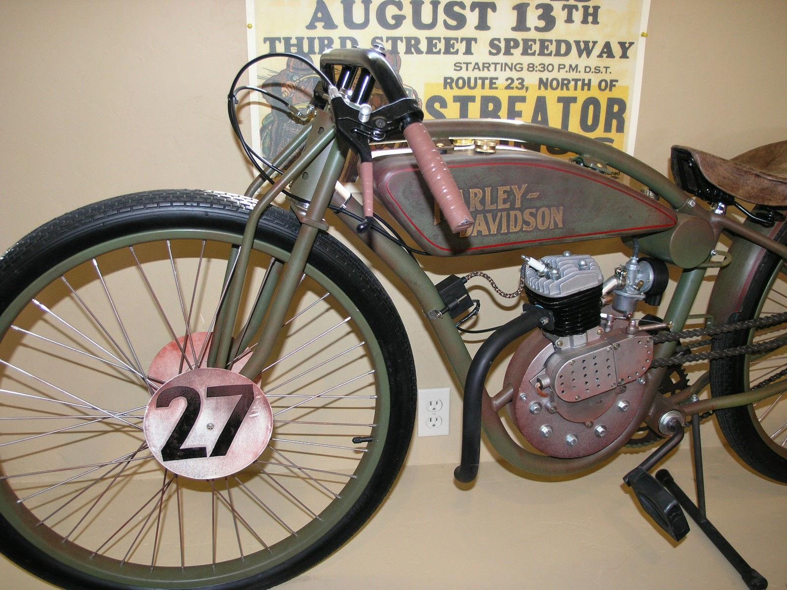 Fast Is Fast 1927 Harley Davidson Board Track Racer