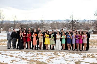 semplicemente perfetto wedding planner matrimonio arcobaleno rosso viola giallo verde nero bianco cori cook